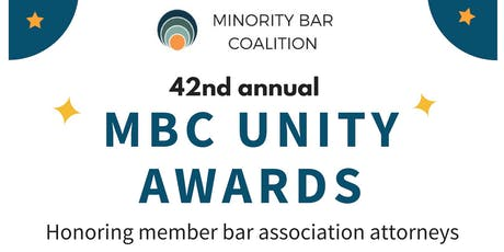 2019 Minority Bar Coalition Unity Awards tickets