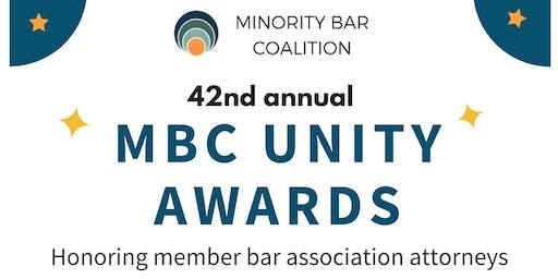 2019 Minority Bar Coalition Unity Awards