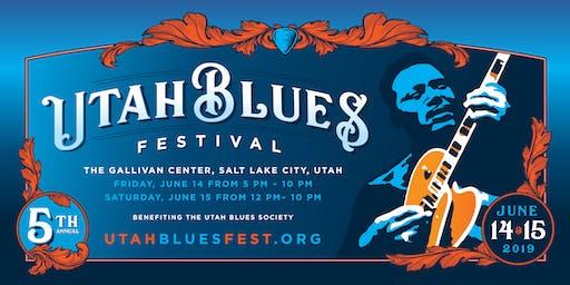 2019 Utah Blues Festival - 5th Anniversary