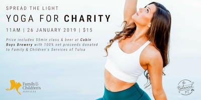 Spread the Light:  A Charity Yoga Event (Tulsa)