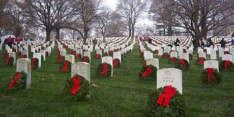 Volunteers Needed to Place Wreaths at Arlington National Cemetery! tickets