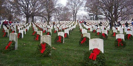Volunteers Needed to Place Wreaths at Arlington National Cemetery!