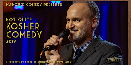 2nd Annual Not Quite Kosher Comedy Night at Ambrose West tickets