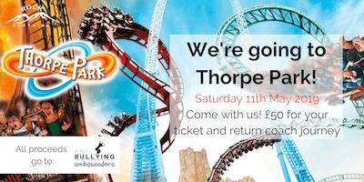 Thorpe Park Fundraiser