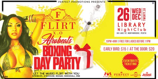 FLIRT X.O AFROBEATS BOXING DAY PARTY