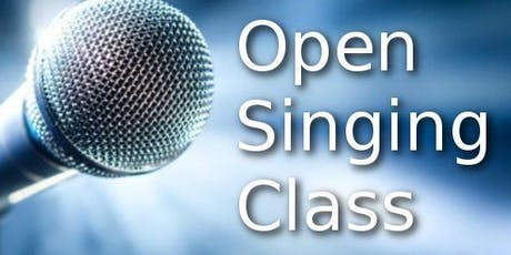 Open Singing Class Tickets
