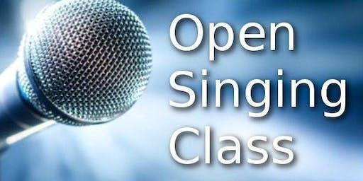 Open Singing Class
