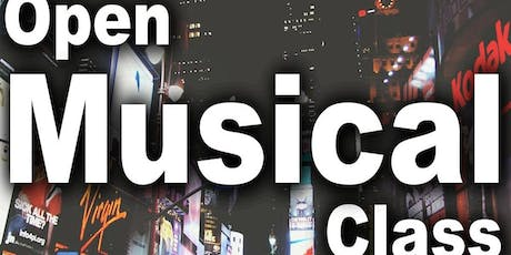 Open Musical Class Tickets