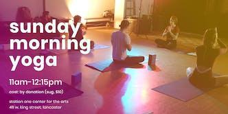 Sunday Morning Community Yoga