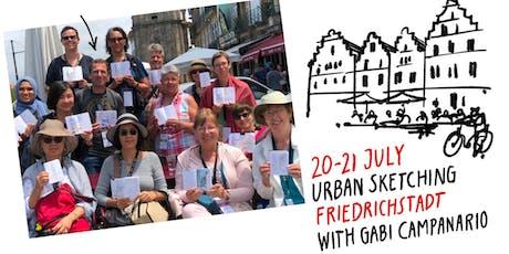 Urban Sketching Friedrichstadt with Gabi Campanario tickets