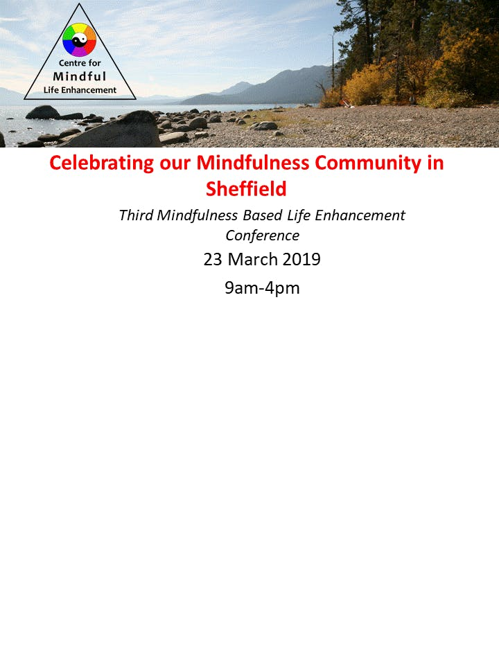 Celebrating our Mindfulness Community in Shef