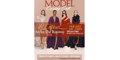 MODEL AUDITIONS - LE COIFFEUR FASHION RUNWAY SHOW