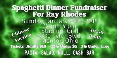 Ray Rhodes Spaghetti Dinner Fundraiser at The Stadium Grill