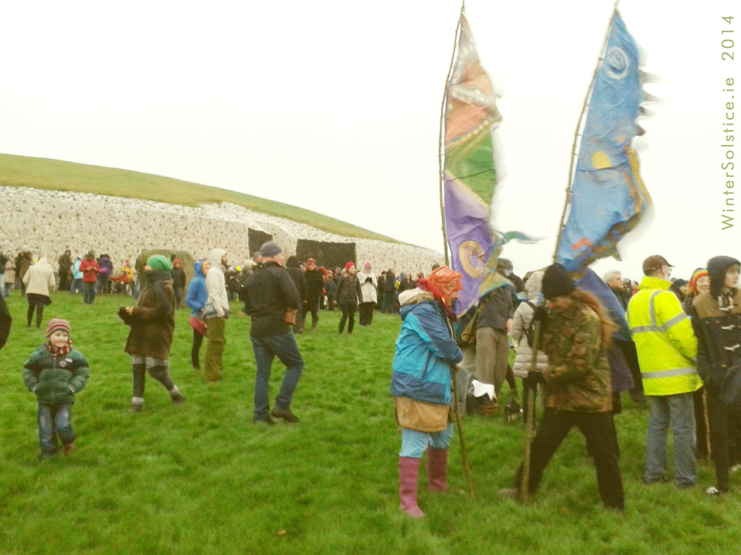 Winter Solstice Newgrange, Ireland - our beloved Community gathering: Darkness into Light