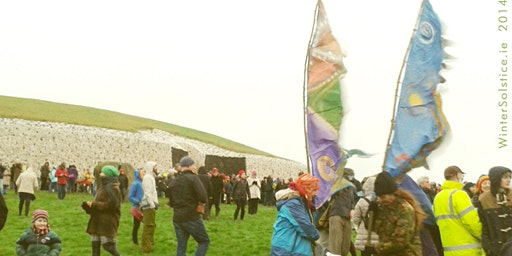 Winter Solstice Newgrange, Ireland - our beloved Community gathering: Darkness into Light
