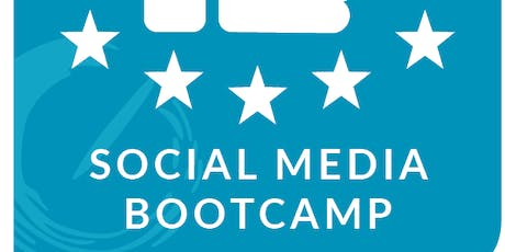 Social Media Bootcamp 101: Learn how to promote and elevate your brand presence on social media tickets