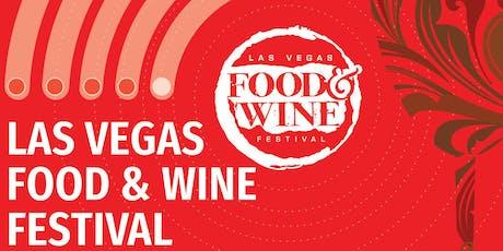 Las Vegas Food & Wine Festival tickets