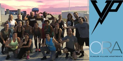 Sunset Sweat HIIT Rooftop Workout