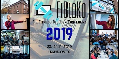 FiBloKo - Die Sport und Fitness Blogger Konferenz 2019 Tickets