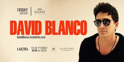 DAVID BLANCO in Concert