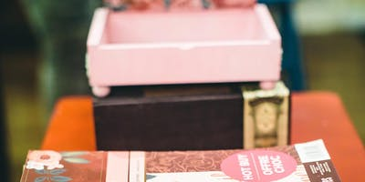 WOMEN'S WORKSHOP -  OLD CIGAR BOX TRANSFORMED