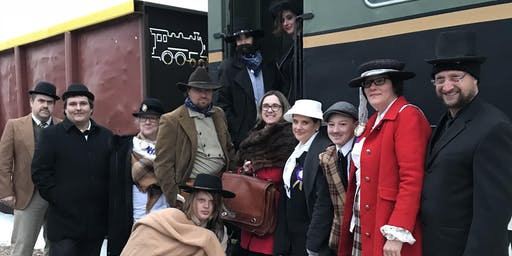 Murder Mystery on the Battle River Express