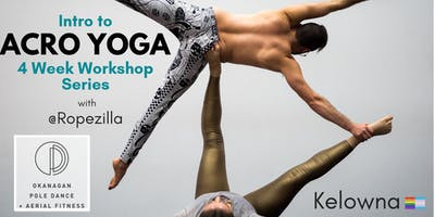 Intro to Acro Yoga, January 4 Workshop Series, Kelowna
