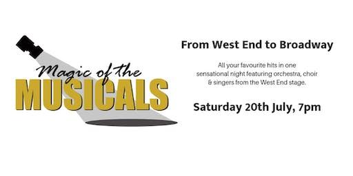 Churchill Theatre Gardens SUMMER CONCERT - Magic of the Musicals