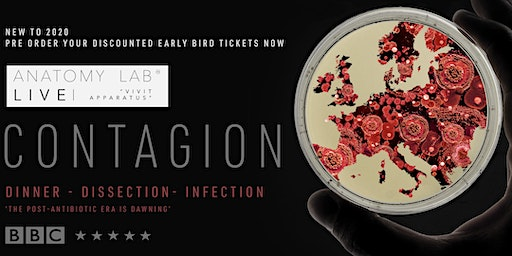 ANATOMY LAB LIVE : CONTAGION | Glasgow 03/01/2020