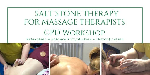 Salt Stone Therapy For Massage Therapists 1 Day CPD Workshop