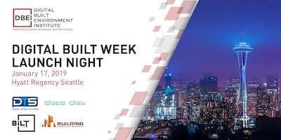 Digital Built Week Launch Night