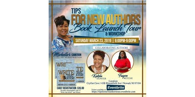 Tips For New Authors Book Launch Tour & Workshop