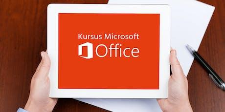 Microsoft Office Training tickets