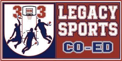2019 3 on 3 Co-Ed Basketball League