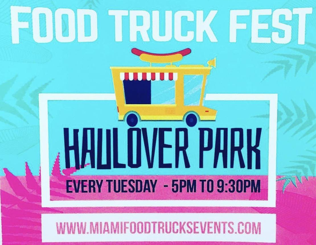 Food Truck Tuesday's Festival Haulover Park