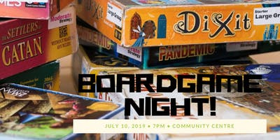 Boardgame Night 20 July 2019