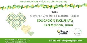 Mesa Redonda 'Educación Inclusiva: La diferencia, suma'