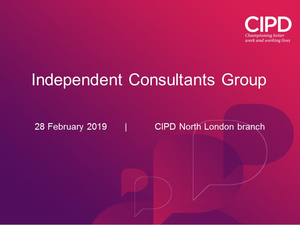 Independent Consultants Group