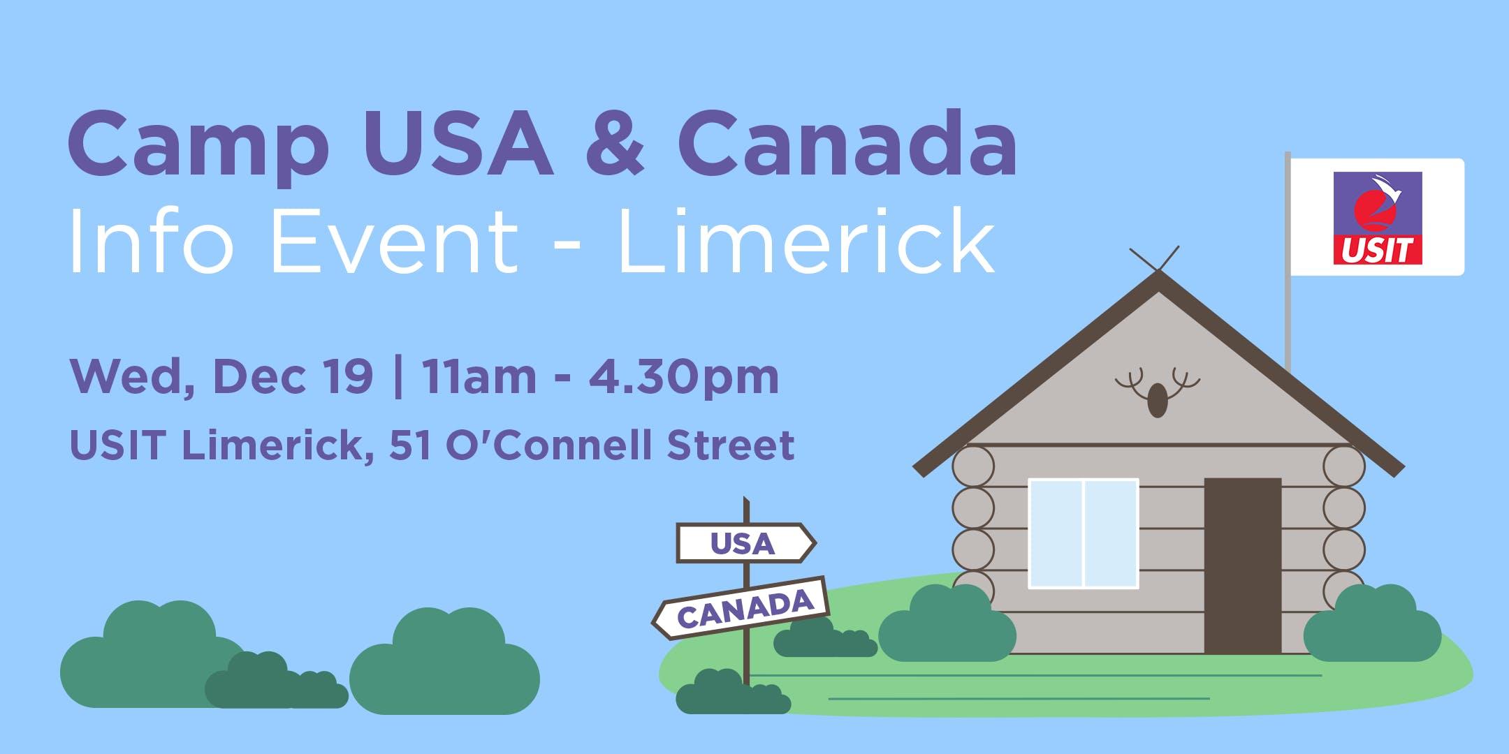Camp USA & Canada Info Event - Limerick