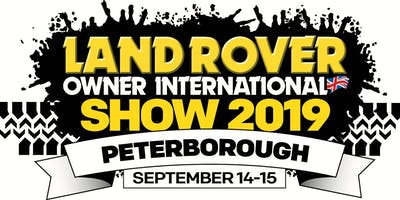 Land Rover Owner International Show 2019