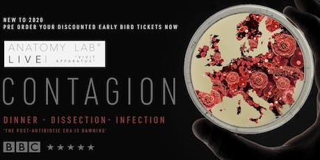 ANATOMY LAB LIVE : CONTAGION   Farnborough 22/02/2020 tickets