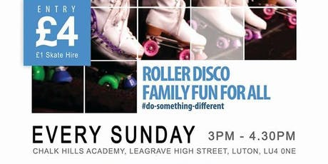 Luton- Roller Disco - RollBack tickets