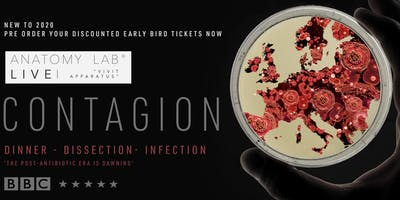 ANATOMY LAB LIVE : CONTAGION | Brighton 29/02/2020