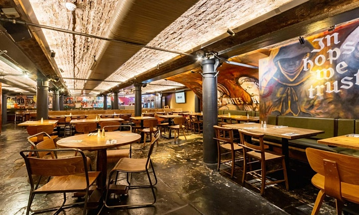 NYE - COVENT GARDEN COMEDY CLUB GALA SHOW, DINNER & PARTY @ BELGO CENTRAAL image