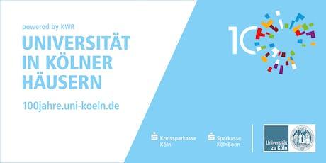 Citizen-Science-Projekt: Köln eine europäische Stadt Tickets