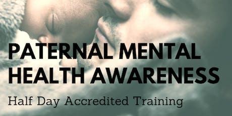 Paternal Mental Health Awareness Accredited Training - Bridgend tickets