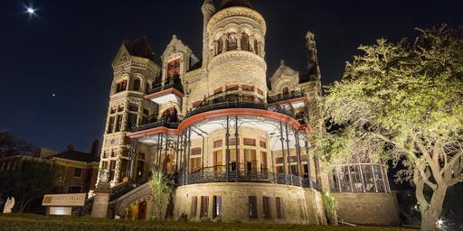 Full Moon Tours of the 1892 Bishop's Palace