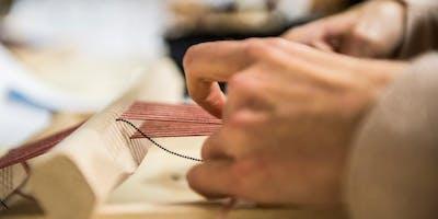 Atelier+ Textiel: Wandtapijtje weven