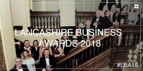Lancashire Business Awards 2019 tickets