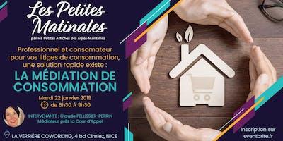 #PETITEMATINALE - Pour vos litiges de consommation, AYEZ LE RÉFLEXE MÉDIATION!